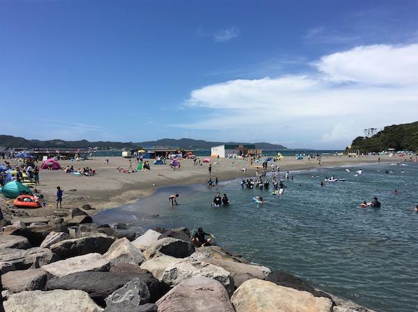 沖ノ島海水浴場2